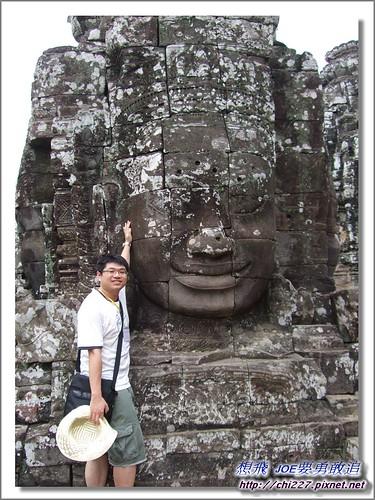 吳哥城-微笑雕刻