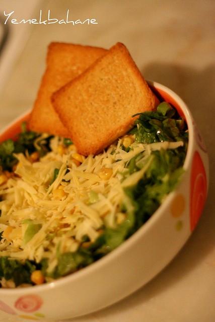 Yeşil Elmalı Salata