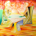 "therapy conversation 2 2004 <a style=""margin-left:10px; font-size:0.8em;"" href=""http://www.flickr.com/photos/30723037@N05/5242870454/"" target=""_blank"">@flickr</a>"