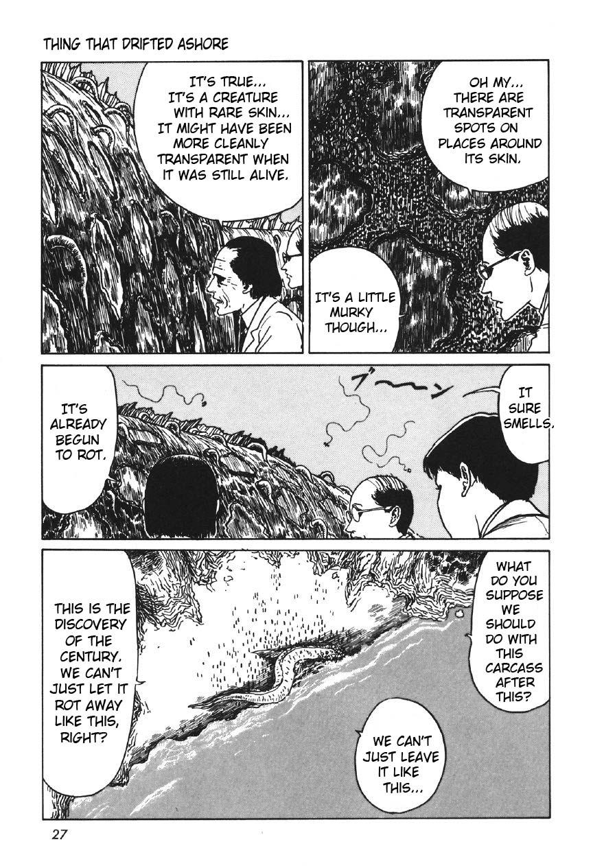 Junji Ito - Thing That Drifted Ashore 9