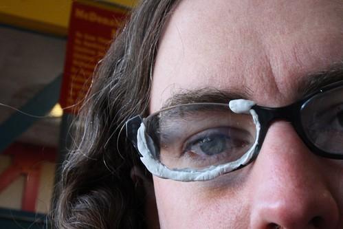 Kay's JB Welded glasses