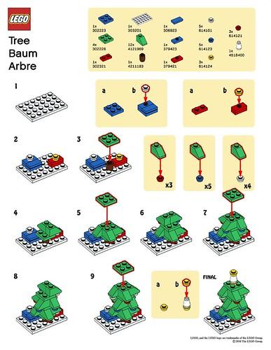 Lego Mmmb December 10 Tree Instructions A Photo On Flickriver