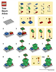 LEGO MMMB - December '10 (Tree) Instructions (TooMuchDew) Tags: christmas holiday tree december lego instructions arbre baum legostore december10 legoimaginationcenter legoinstructions mmmb legoclub toomuchdew monthlyminimodelbuild licmoa minimodellbauevent
