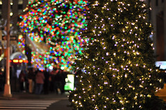 Rockefeller Center (Melissa Terry) Tags: christmas plaza city nyc winter holiday newyork ice lights skating center rink rockefeller