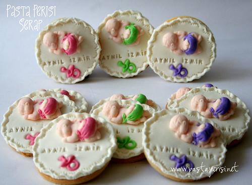 Aynil İzmir bebek kurabiyeleri