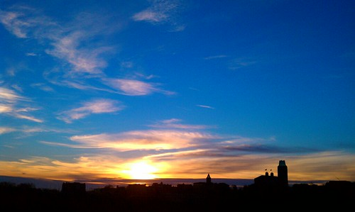 Sunrise Over Campus - 12/10/2010