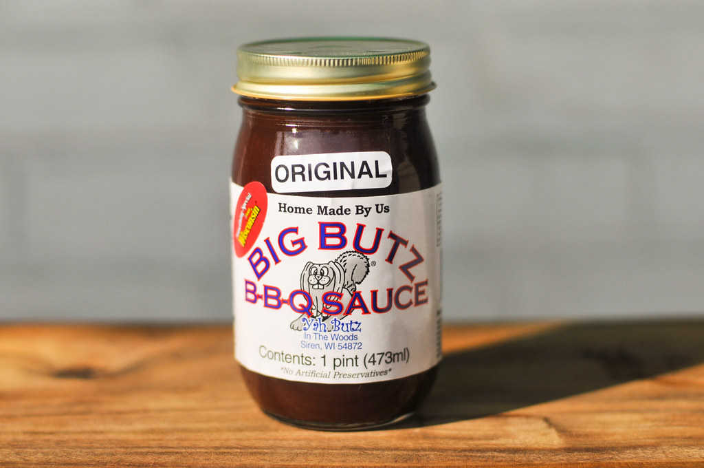 Big Butz B-B-Q Sauce - Original