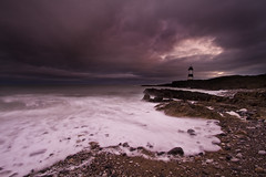 Penmon (explored) (i.m.j.) Tags: sea lighthouse wales dawn coast waves cymru wideangle stormy explore blackpoint anglesey canon1022mm ynysmn penmon arfordir tirlunlandscape explored trwyndu boilingsky canon7d