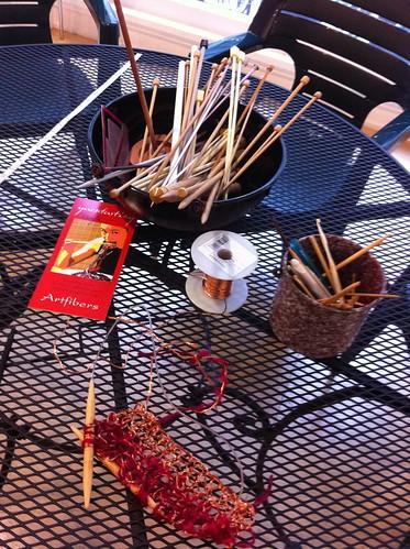 Yarn tasting cafe