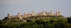 cartolina (scattomatto56 (one million visitors)) Tags: siena toscana monteriggioni castello antico torri medioevo medioevale