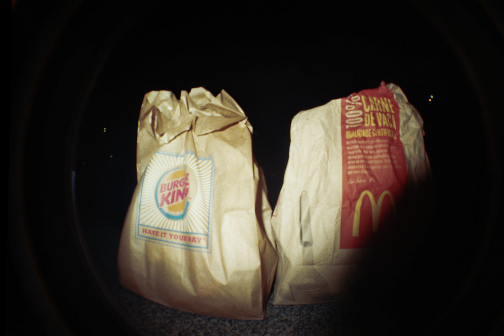 Fast food paperbags