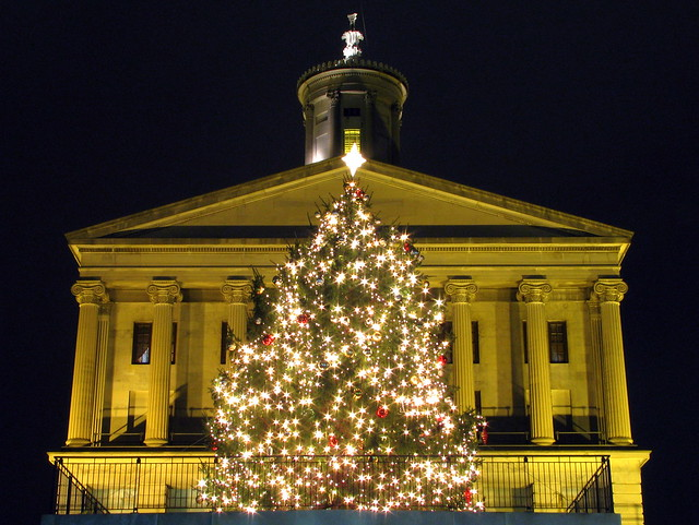 Tennessee's 2010 Christmas Tree at the State Capitol