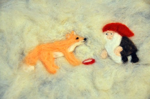 The Tomten and the Fox / Tomte und der Fuchs