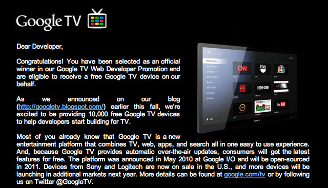 Free Google TV