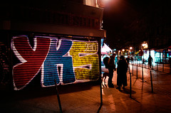 YKS By Night (Vergio Graffito) Tags: street paris graffiti tag crew graff 2010 chatelet ambiance yks