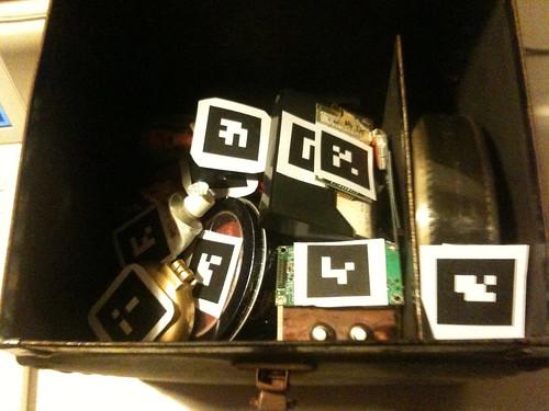 AR Fluxus box