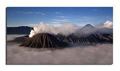 Smoking Hot Bromo (Nora Carol) Tags: indonesia landscape morninglight southeastasia mountbromo eastjava outdoorphotography natureimage noracarol saariysqualitypictures mountbromocloseup