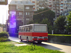 Ikarus 256.51 busz Rusze Bulgria 2007   256.51  (Balkanton) Tags: street bus nature sign germany logo design republik east bulgaria ddr magyar gdr deutsche magyarorszg    demokratische     npkztrsasg