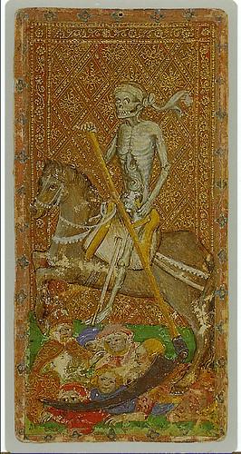 011-La muerte-Cary-Yale Visconti Tarot Deck f