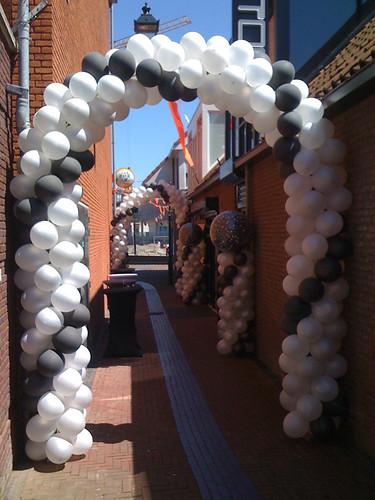 Ballonboog 8m Bar Tops Spijkenisse