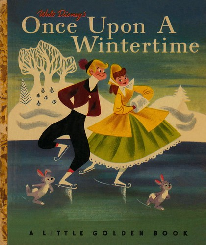 Little Golden Book D012 - Walt Disney's Once Upon A Wintertime - Page 1