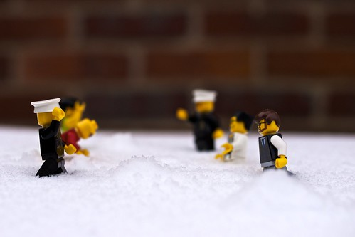 Snow Fight..