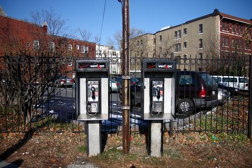 Columbia Road Payphones