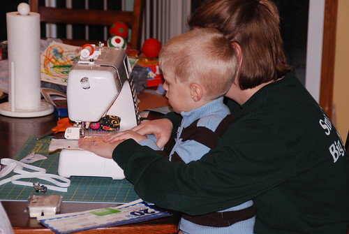 Sewing Christmas presents