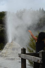 Go Geyser Go (mrfuller) Tags: travel newzealand soap rotorua mullet backpacking northisland geyser volcanic thermal ladyknox bogan waiotapo dsc3174