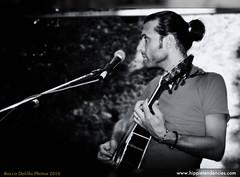 Hippie Tendencies - Christian Codenotti (rocco delillo) Tags: blackandwhite bw monocrome hippietendencies folkrockindie christiancodenottiguitarbackgroundvocals
