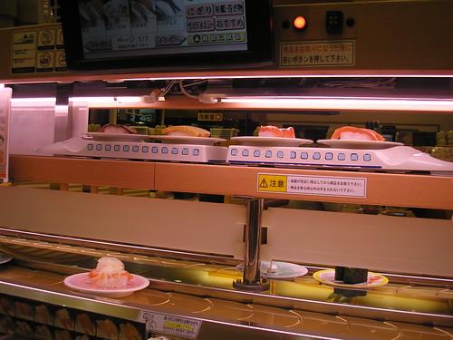 The sushi train!