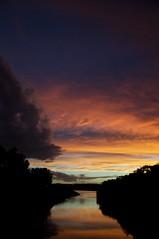 Creek, sunset (TKemp) Tags: sunset nikon d300 1685mmf3556gvr