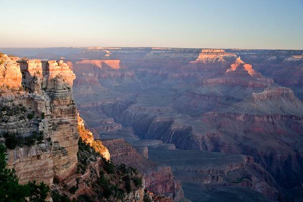 Grand Canyon Sunrise 8:24 AM