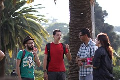 Turma da Rasa no Ibirapuera (Henrique Garcia) Tags: parque brazil france brasil sampa sp amelie ibirapuera ameliepoulain poulain