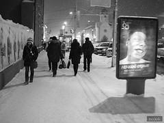 bw in novosibirsk (noookm) Tags: white black photo novosibirsk зима фото мороз черное белые сибирь новосибирские