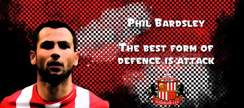 Phil Bardsley - Sunderland - Premier League
