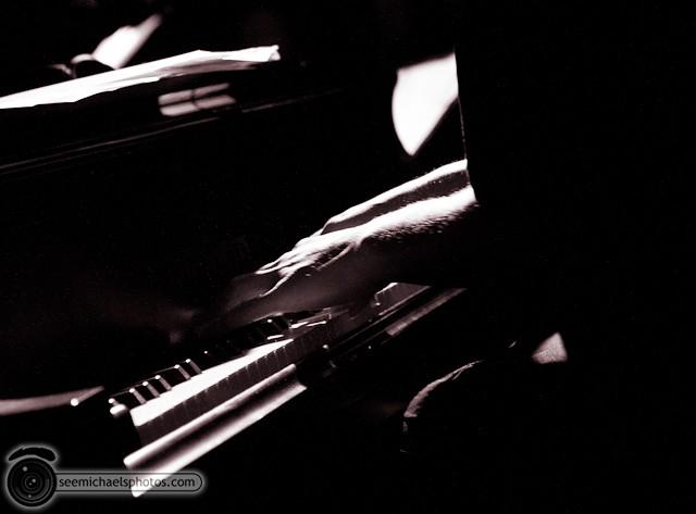 Jason Robinson Quintet at Dizzy's 121810 © Michael Klayman-005
