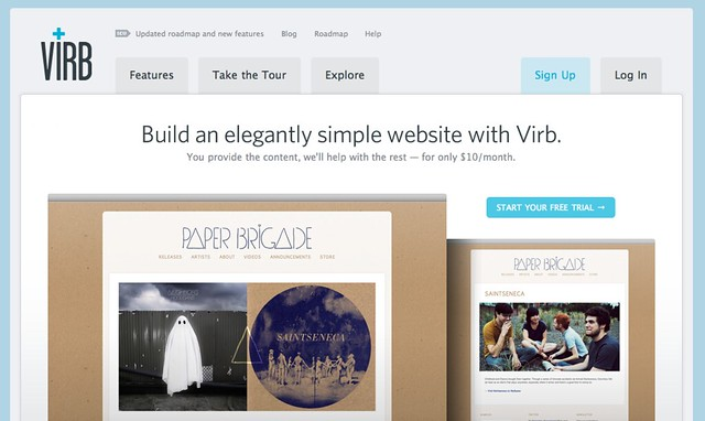Virb › Elegantly simple websites