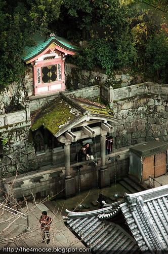 Kiyomizu-dera 清水寺 - Otowa-No-Taki 音羽の滝