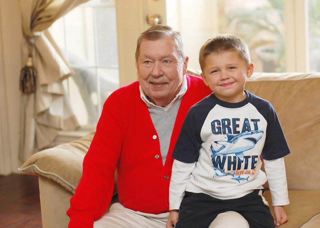 Dad, Peyton 2010