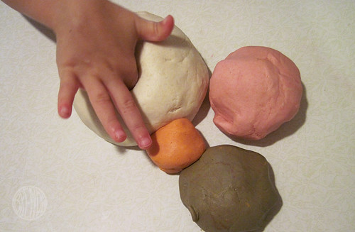 homemade play dough!