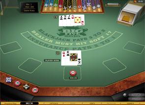 Big Five Blackjack Gold game