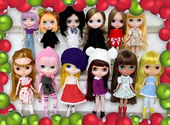 Merry Xmas from my Blythe Family