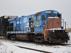 Conrail (CSX) 3184 (Fan-T) Tags: november industrial 1977 ge built cr rustbelt csx conrail dink switchers 2816 3184 b237 rinky 111977