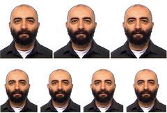 SETTE GEMELLI (Renato Morselli) Tags: portrait me io ritratto gemelli fototessera somiglianza renatomorselli