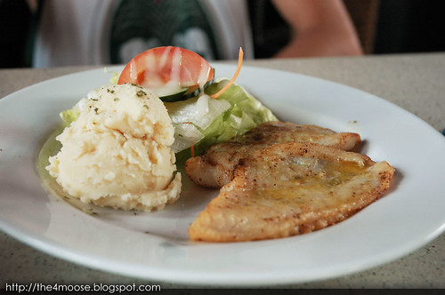 Bistro@Changi - Dory Filet with Caper Sauce
