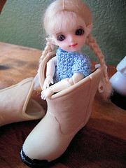 Sage (melimeli - photos) Tags: white doll vampire chocolate mini pixie tiny bjd orient abjd balljointeddoll