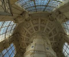 chateau_chambord (xsalto) Tags: sculpture france de la palais chateau vinci loire renaissance ardoise escalier 1er caissons verriere léonard françois