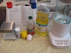 ingredients mayonesa