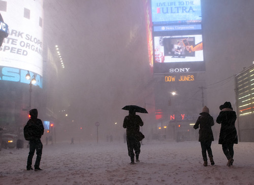 - New York Blizzard Snowstorm Blargfest